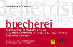 Bücherei Card